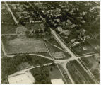 Aerial view over Fargo College, Fargo, N.D.
