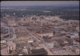 Aerial of downtown Fargo, N.D.