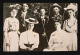 Effie Smith Rogers with friends