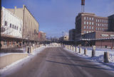 Broadway in winter, Fargo, N.D.