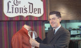 Joseph I. Connors, manager of the Lion's Den department Herbst Department Store, Fargo, N.D.