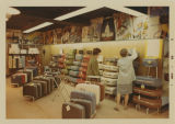 Luggage section at Herbst Department Store, Fargo, N.D.