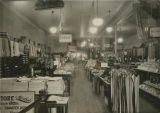Interior of Herbst Department Store before expansion, Fargo, N.D.