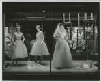 Bridal window at Herbst Department Store, Fargo, N.D.