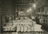 Domestics section at Herbst Department Store during expansion, Fargo, N.D.