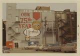 Herbst Department Store's 75th Anniversary west building sign, Fargo, N.D.