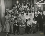 Employees in 75th Anniversary costumes, Herbst Department Store, Fargo, N.D.