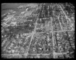 Aerial over NDSU after tornado of 1957
