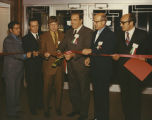 """Salute To Italy"" ribbon cutting, Herbst Department Store, Fargo, N.D."