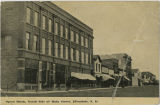 Opera Block, North Side of Main Street, Ellendale N.D.