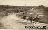 Regiment hike on Tex-Mex. border, 1st N.D. Inf., Merceds, Tex.