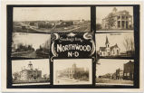 Greetings from Northwood, N.D.